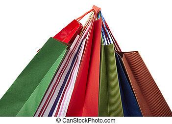 sacchetto spesa, consumismo, vendita dettaglio