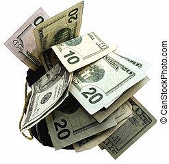 sacchi soldi