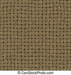 Sack cloth background square