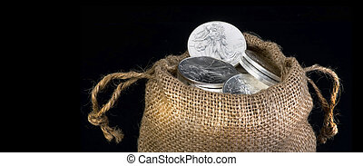 Sack Of Silver .