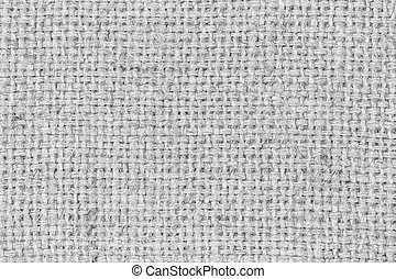 sackcloth gray textured background.