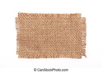 sackcloth, materiaal