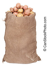 saco, batatas
