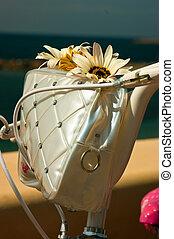 saco, flores