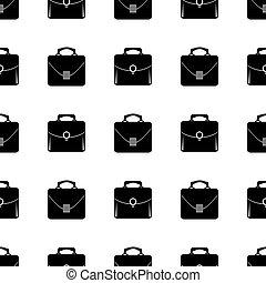 saco, silueta, seamless, pattern.