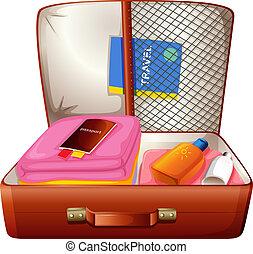 saco, viajar