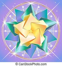 sacré, géométrie