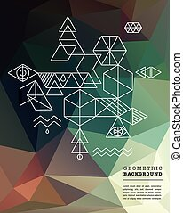 sacré, geometry., spiritualité, alchimie, icônes