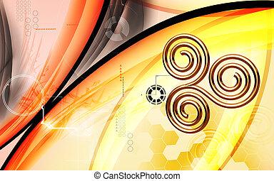 sacré, symbole