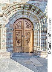 Sacra San Michele Abbey Chapel Door, Italy