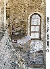 Sacra San Michele Abbey Interior View, Italy