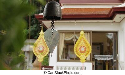 Sacral bells in Wat Saket Ratcha Wora Maha Wihan (the Golden...