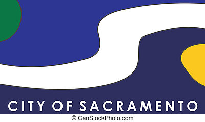 Sacramento city flag