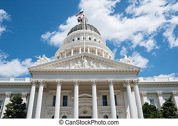 sacramento, estado, california, capitolio