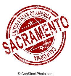 Sacramento with white background