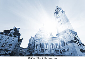 Sacre Coeur Basilica , Paris, France