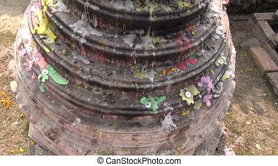 sacred buddhist place.Lumbini