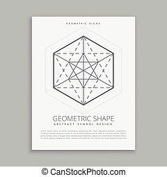 sacred geometrical symbol