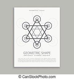 sacred geometry hipster symbol