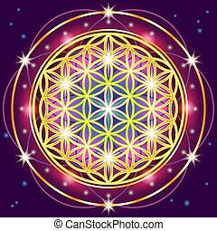 Sacred Geometry - Symbols of sacred geometry, depict ...