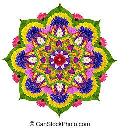 Sacred Sky Lotus mandala