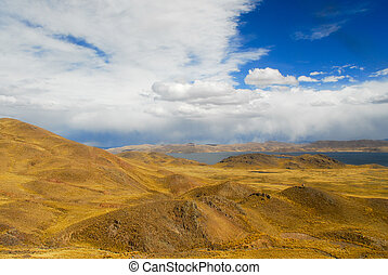 Sacred Valley of the Incas. Cusco to Puno, Peru.