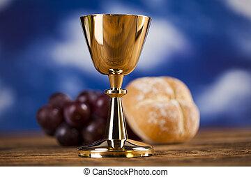 sacrement, symbole, eucharistie, communion