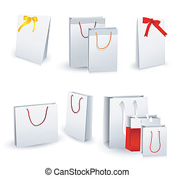 sacs, achats, cadeau