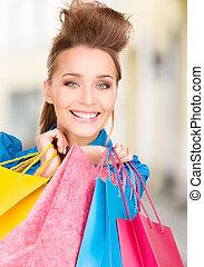 sacs, achats femme, ctiy
