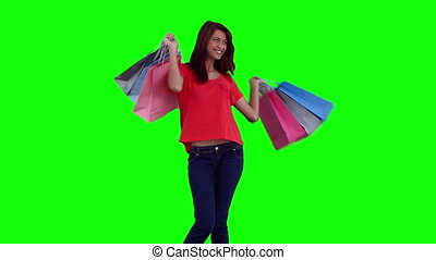 sacs, achats femme, danse, quoique, tenue