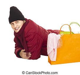 sacs, achats femme, séduisant