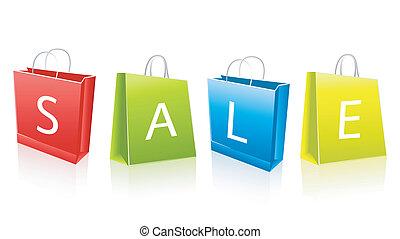 sacs, achats, vente