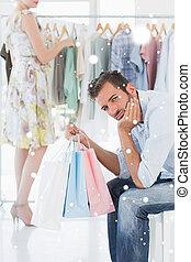 sacs, c, achats femme, image composée, quoique, percé, homme