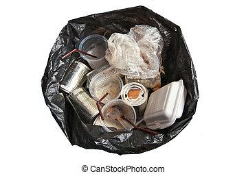 sacs, déchets