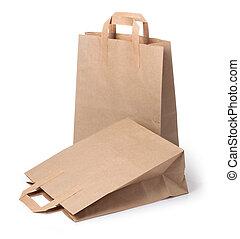 sacs, papier