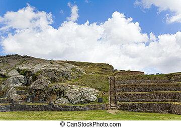 sacsayhuaman, terrazzi