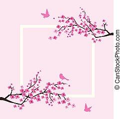 sacura branches frame