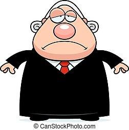 Sad Cartoon Judge