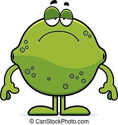 Sad Cartoon Lime