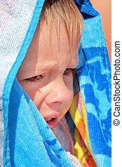 Sad Child outdoor