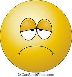 Sad Face character