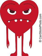 Sad Heart Smile Emoticon
