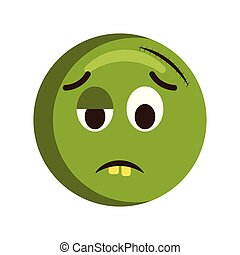 Sad injured emoji icon