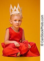 sad little princess