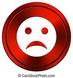 Sad smiley icon