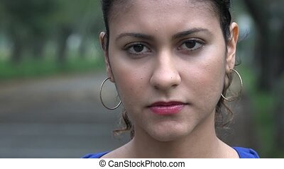 Sad Woman, Depressed Youth, Feelings
