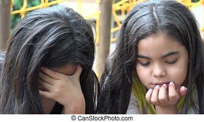 Sad Young Girls