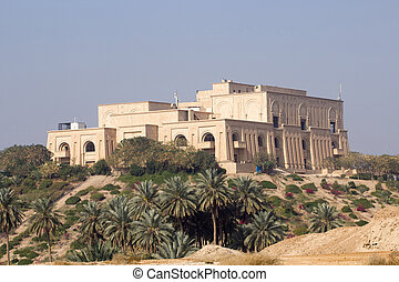 Saddam's Babylon Palace - External picture of the Palace of...
