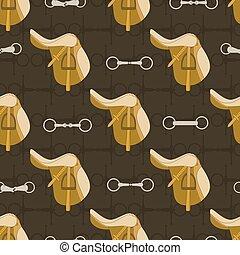 Saddle Background