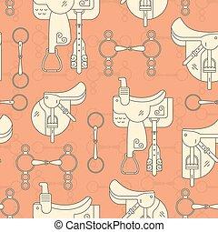 Saddles and Bits Pattern